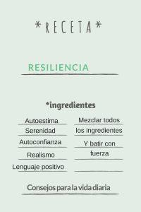 receta resiliencia