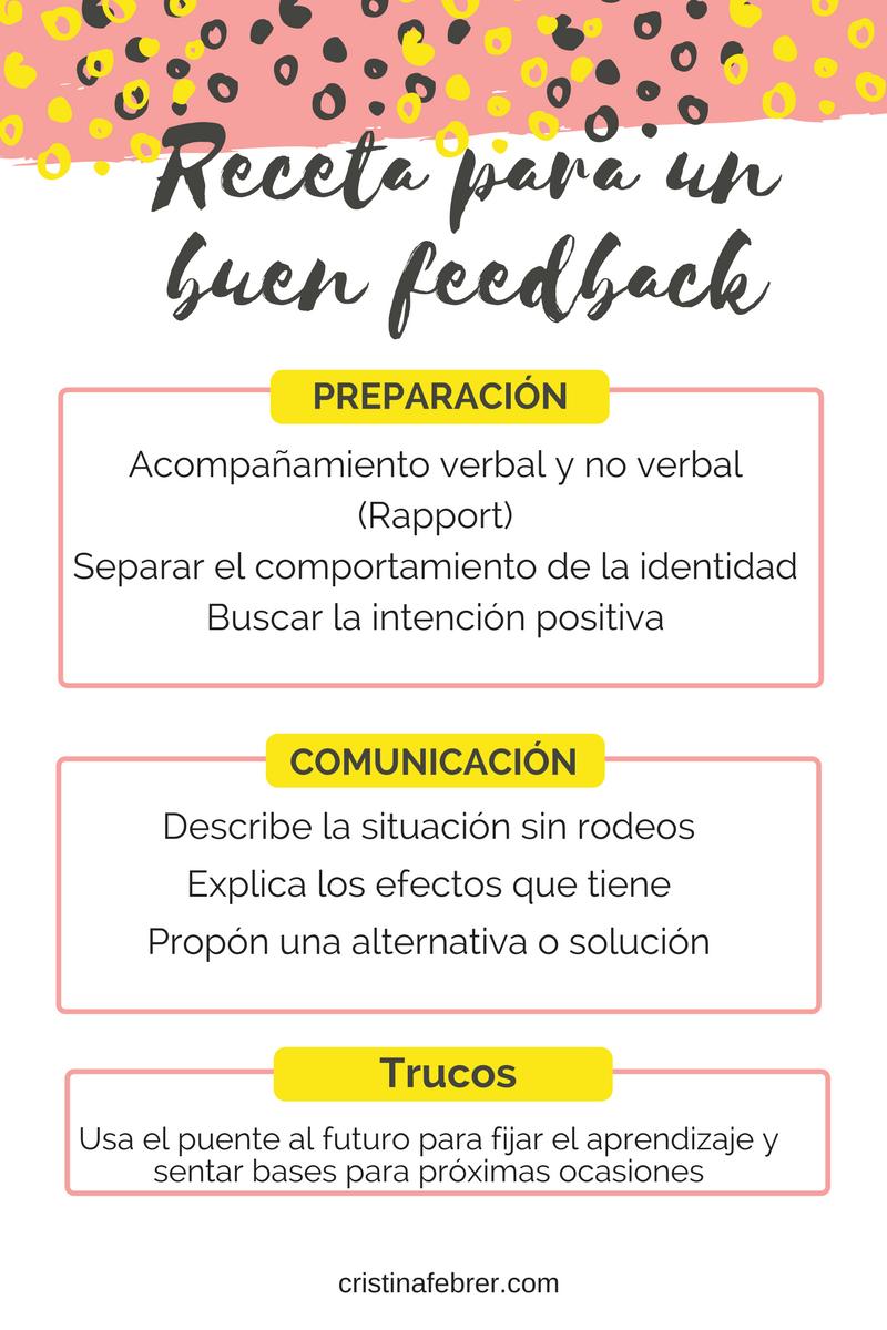 receta buen feed back alt