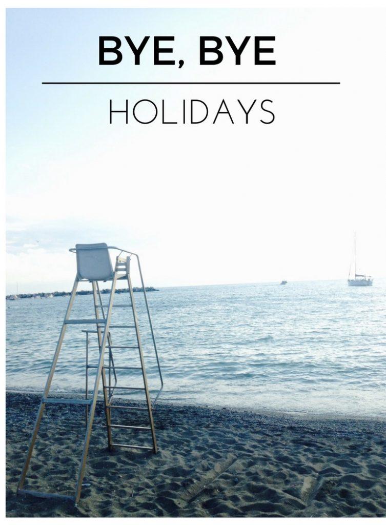 Trucos para evitar estrés fin vacaciones